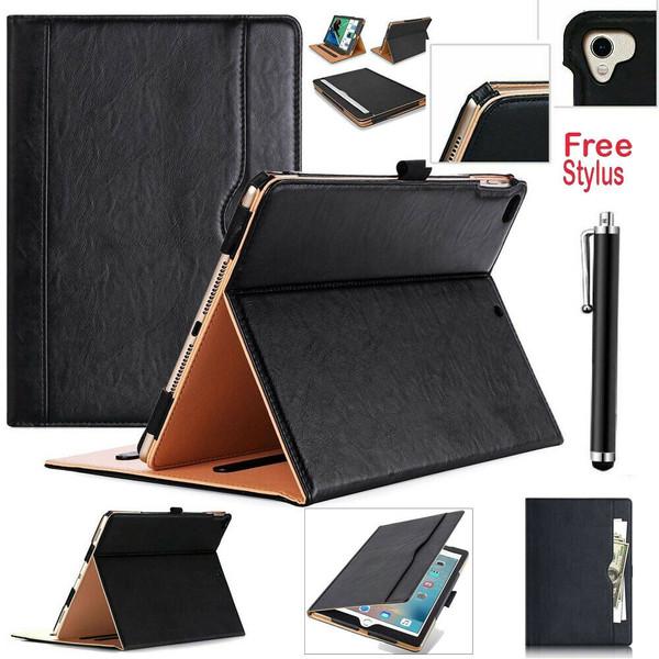 Apple iPad Pro 10.5(2017) Black Luxury Magnetic Leather Stand Case