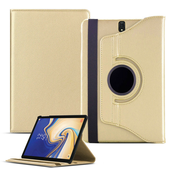 Samsung Galaxy Tab A 10.1 (2019) T510 T515 360 Rotating Stand Gold Case