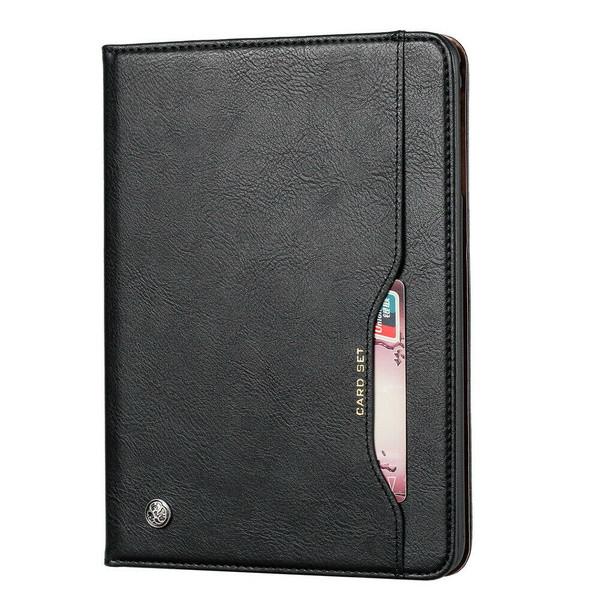 Samsung Galaxy Tab A 7 2020 T500 T505 Wallet Black Leather case