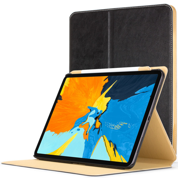 Apple iPad Pro 11'' 2018 Black Magnetic Protective Smart  Stand PU Leather  Case