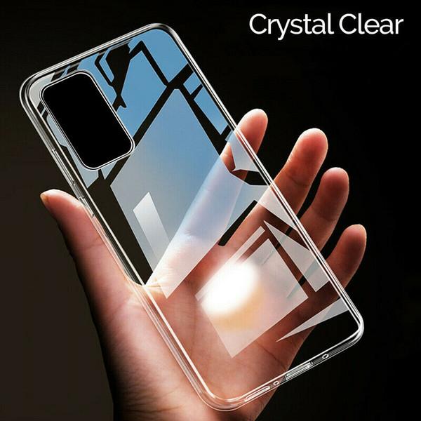 Samsung Galaxy S20  clear silicon gel case