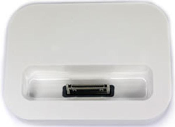 Apple Iphone 4s White Desktop Dock Cradle Charger