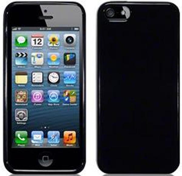 Apple iPhone 5 Hard Gel Case in Black