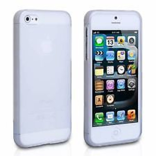 Apple iPhone 5 Hard Gel Case in White