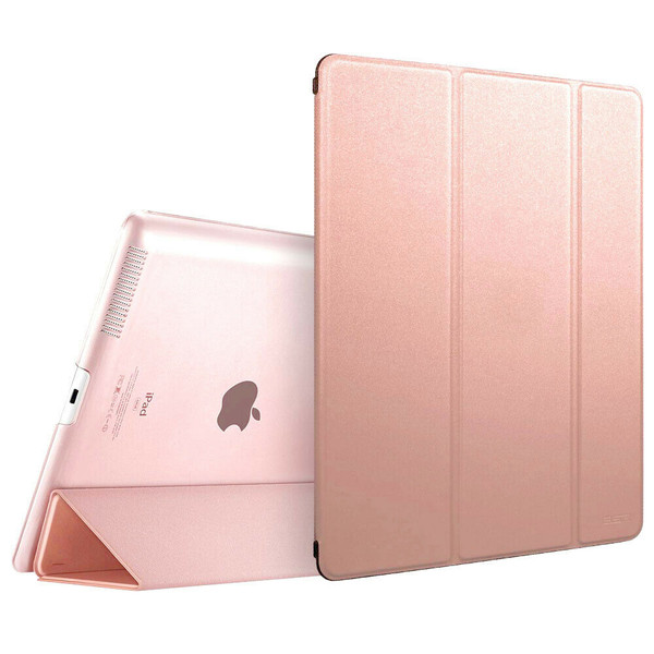 Apple iPad Pro 9.7 2017 2018 Magnetic Smart Rose Gold Stand case