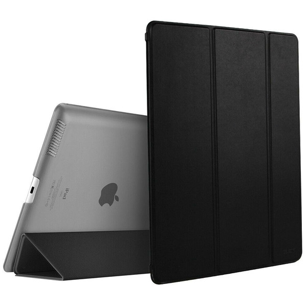 Apple iPad Pro 9.7 2017 2018 Magnetic Smart  Black Stand case