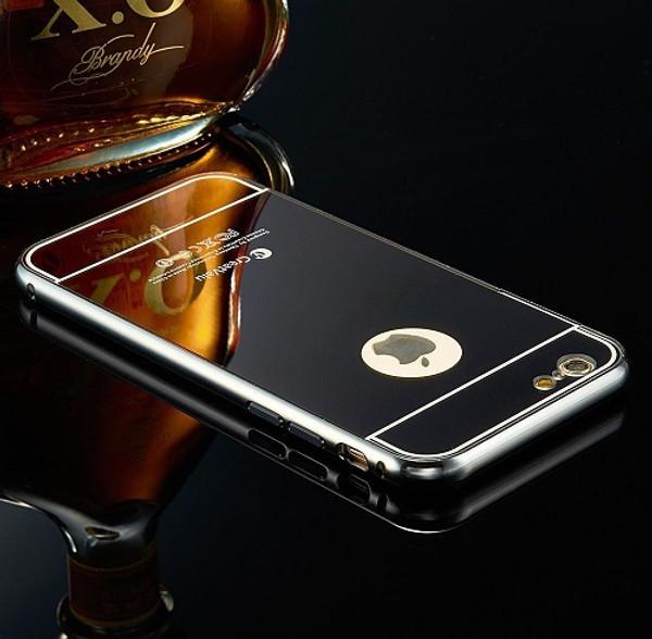 Apple Iphone 5c Black Luxury Aluminium Mirror Case