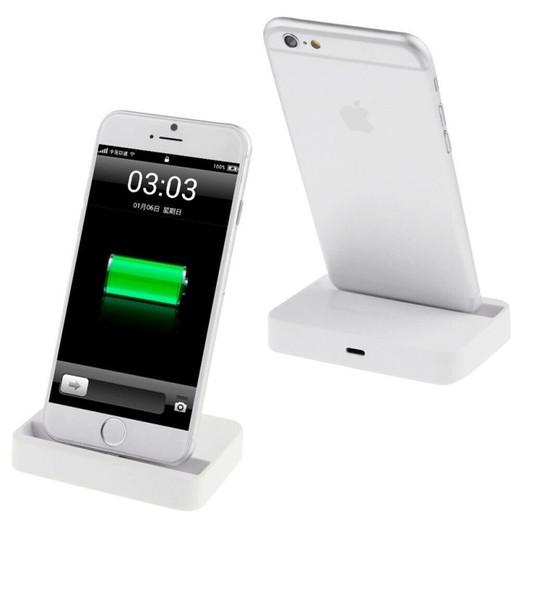 Apple iPhone  5 6 7 Desktop Charging Dock - White