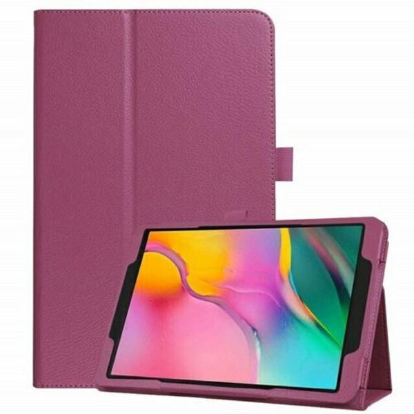 Samsung Galaxy Tab S5E  T720 T725  Purple Leather Folio Stand Cover
