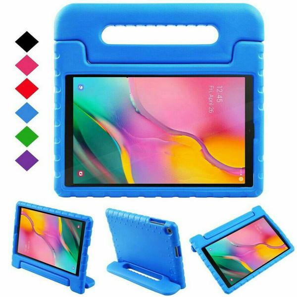 Samsung Galaxy Tab S5E  T720 T725  Blue Kids Eva foam stand case