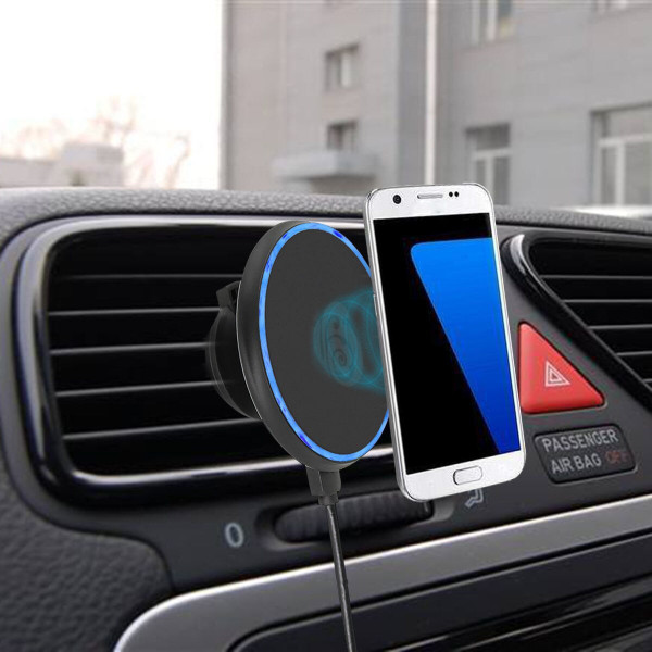 Apple I Phone 11Pro Max  Magnetic Wireless Car Charger