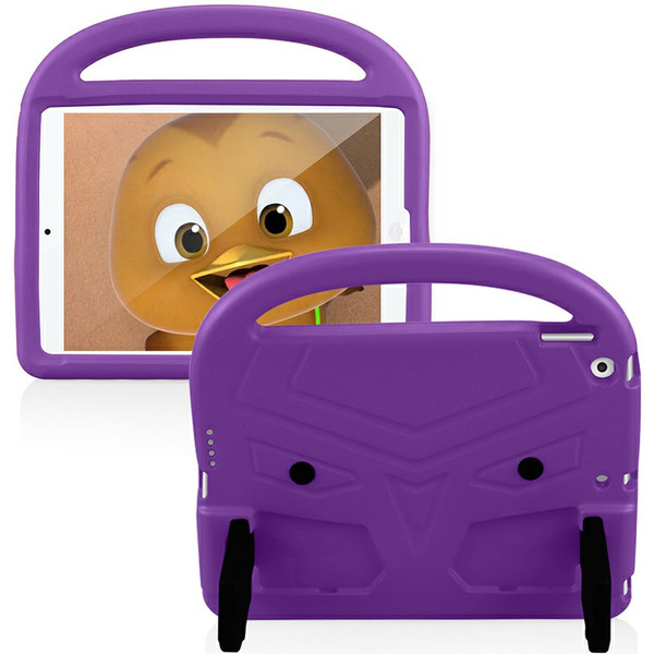 EVA Foam Protective Stand Case Cover for Apple iPad 10.2 inch 2019 - Purple
