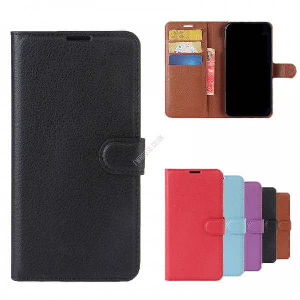 Book Case with Card Wallet for Samsung S20 Plus - Purple