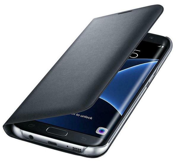 Samsung Galaxy A3  2017 Luxury Leather Card Holder Wallet Flip  Black Case