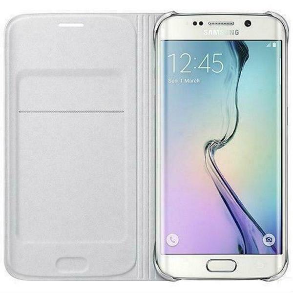 Samsung Galaxy A3  2017 Luxury Leather Card Holder Wallet Flip  White Case
