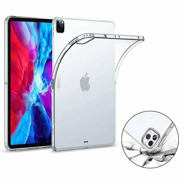 Tpu Silicon Clear  Back Case iPad 10.2 (2020) 8th Generation