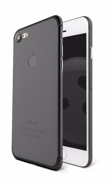 Apple iPhone 8 Plus Ultra-thin Matte Protective Shell PP Hard Black Case