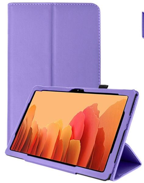 Samsung Galaxy Tab A7 10.4 2020 T50 T505  Purple Smart 360 Folding Stand Cover