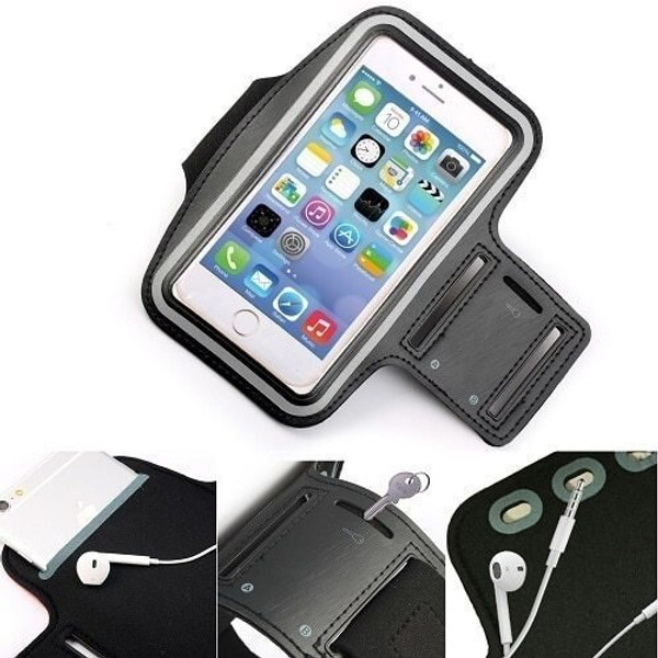 Apple iPhone 12 Pro Max Sports Gym Armband Jogging Cycling Running Arm Holder