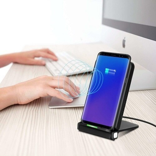 Apple iPhone 12 12Pro Pro Max  Qi Wireless Charger Stand