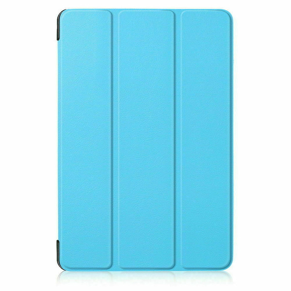 Blue leather magnetic smart case cover for Samsung Galaxy Tab A 10.5 SM-T590 SM-T595