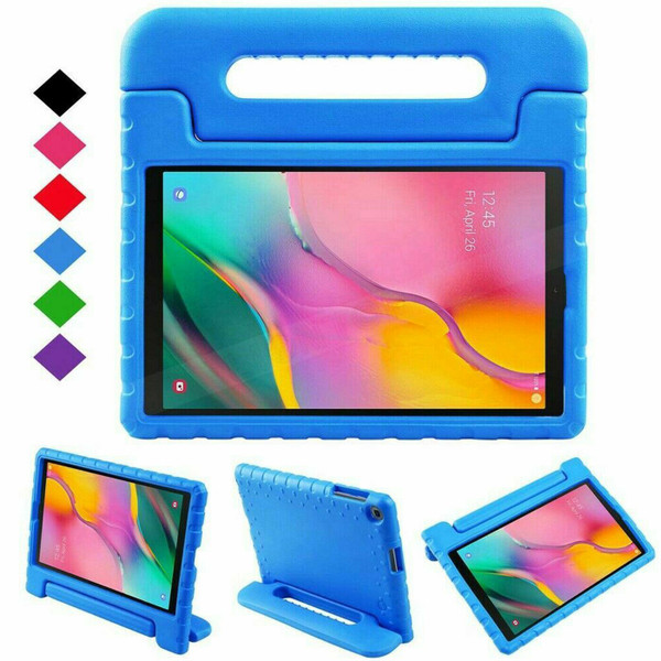 Blue Tough Kids Shockproof Eva Foam Stand Case Galaxy tab A 10.5 T590 T595