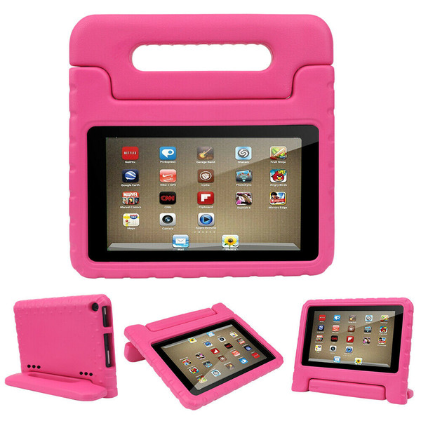 Pink Tough Kids Shockproof Eva Foam Stand Case Galaxy tab A 10.5 T590 T595