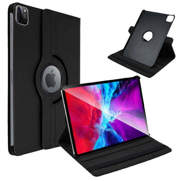 Black slim leather stand Smart Case Cover For Apple iPad Air 10.9 2020 4th Generation
