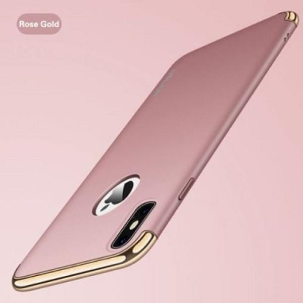 Apple iPhone X Rose Gold Slim Bumper Case