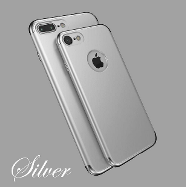 Apple iPhone X Silver Slim Bumper Case