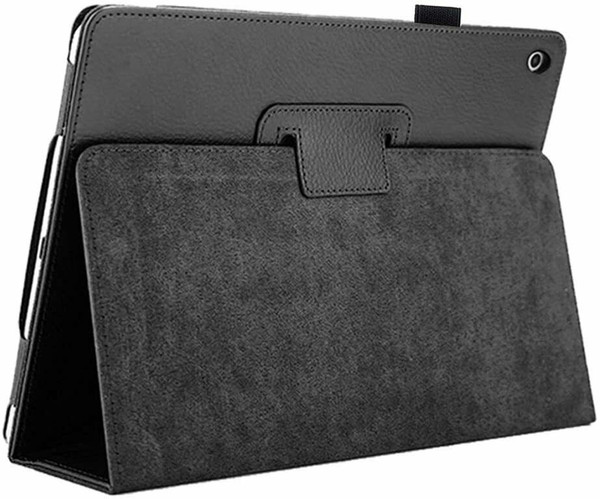 Apple iPad 10.2 (7th Generation) 2019 Black Magnetic PU Leather Stand Case