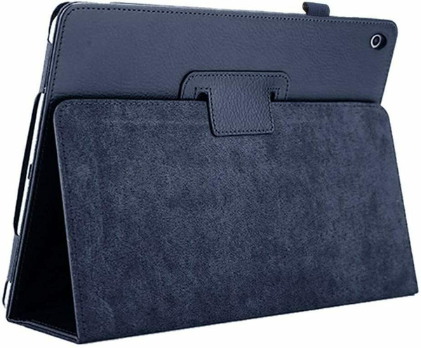 Apple iPad 10.2 (7th Generation) 2019 Blue Magnetic PU Leather Stand Case