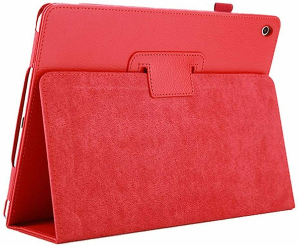 Apple iPad 10.2 (7th Generation) 2019 red Magnetic PU Leather Stand Case