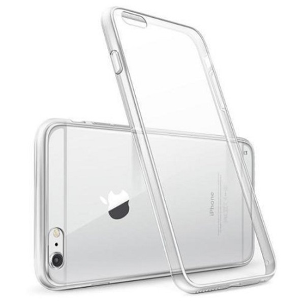 Apple IPhone XS Clear ShockProof 360 Hybrid Silicone Case Cover