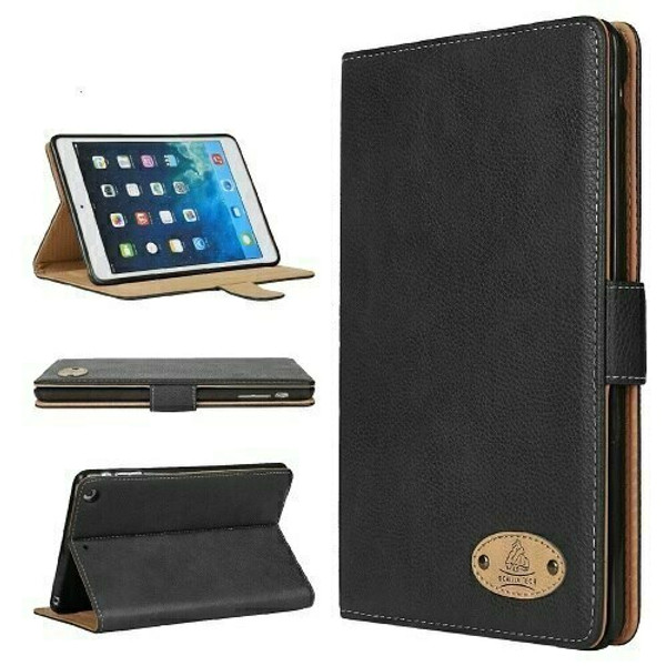 Genuine Gorilla Slim Leather Case for Apple iPad 10.2 2019 7th gen Smart Flip Cover Stand