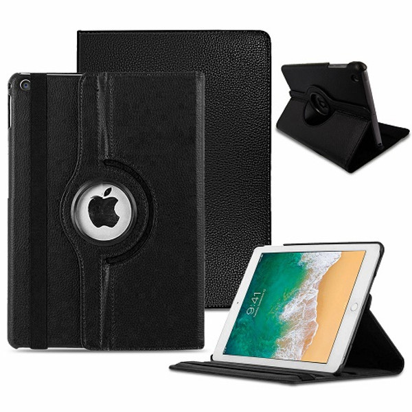 Black  Apple iPad Air 3 10.5'' (2019) 360 Rotating Magnetic Smart Stand Case