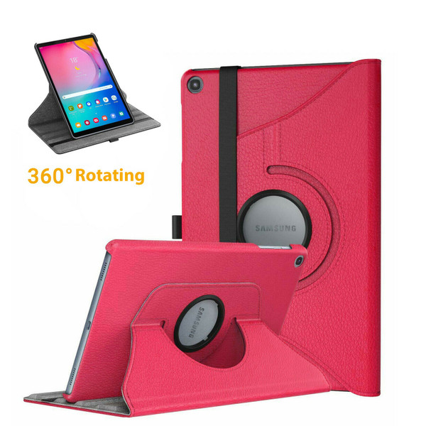 Samsung Galaxy Tab A 10.1 (2019) T510 T515 360 Rotating Stand Pink Case