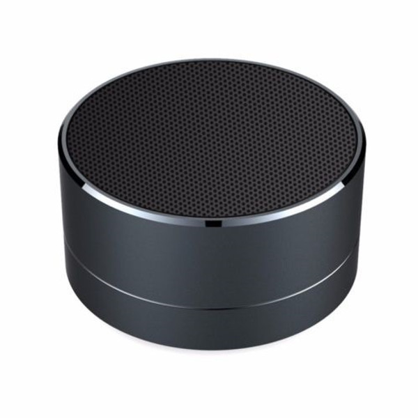 Black Aluminium Wireless Bluetooth Speaker