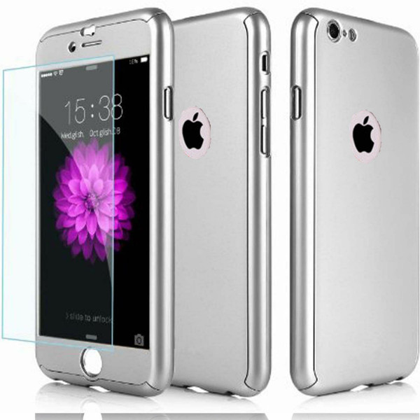Silver Shockproof 360 Full Body Cover Protective for Apple iPhone  11