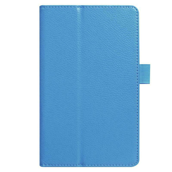 Amazon kindle Fire HD 8(2018) sky blue Flip Magnetic Smart Leather Stand Case Cover