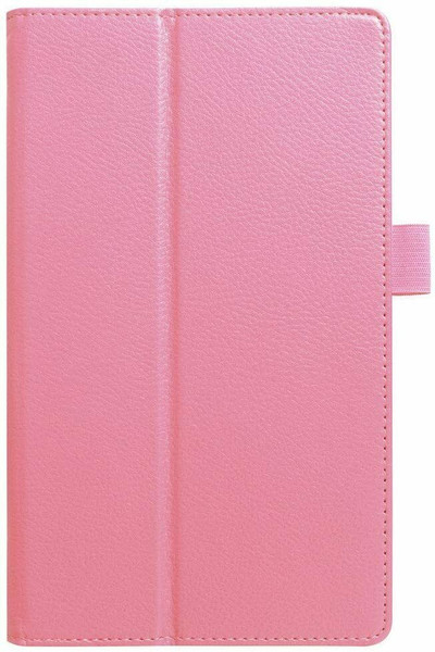 Amazon kindle Fire HD 8(2018) rose gold Flip Magnetic Smart Leather Stand Case Cover