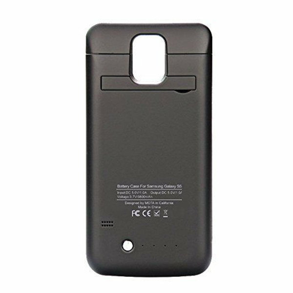 3800mAH External Backup Battery Rechargable Power Case For Samsung Galaxy S5