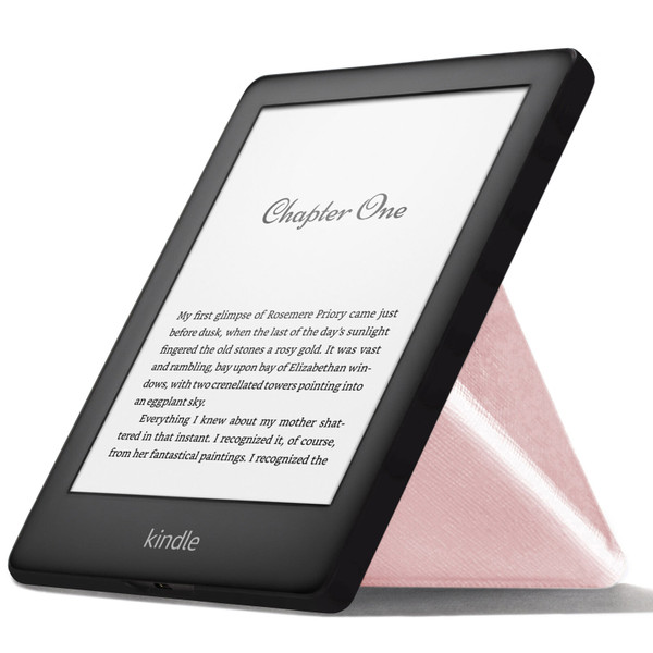 Rose gold FC Kindle 2019 Case | Cover Stand Origami | Slim & Light + Stylus Protector