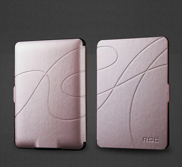 Rose gold Smart Leather Case Cover for New Kindle (10th Generation, 2019 Release)