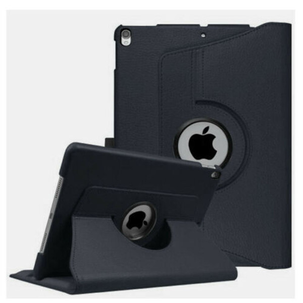 Black PU Leather 360 Rotating Case for iPad Air 2(2014)