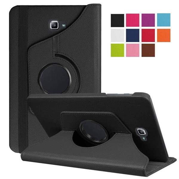 Black PU Leather 360 Rotating Case for Samsung Galaxy Tab 3 8.0 (T310/T311)