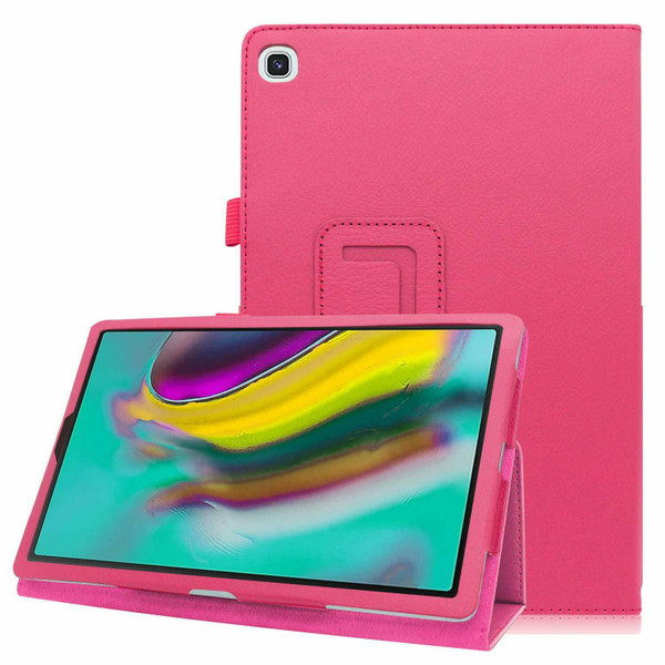 Samsung Galaxy Tab A7 10.4 2020 T500 T505   Smart pink Folding Stand Cover