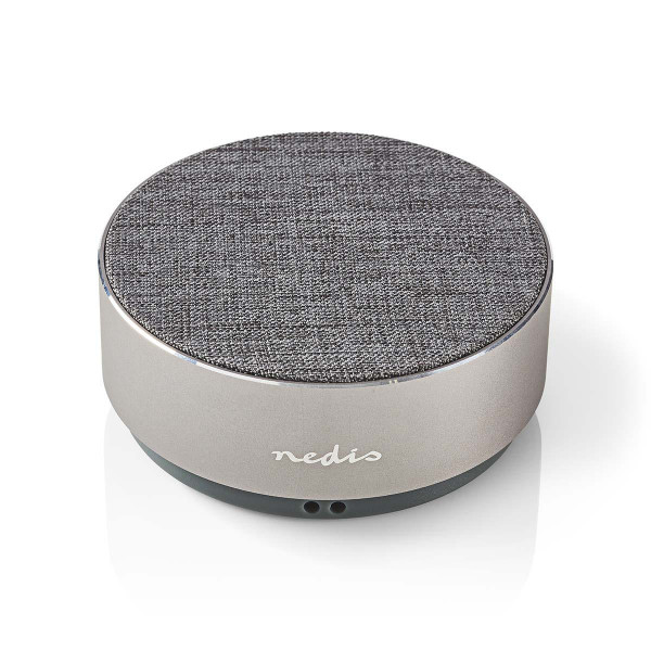 Bluetooth Speaker | 9 W | Metal Crafted Design | Gun Metal Grey