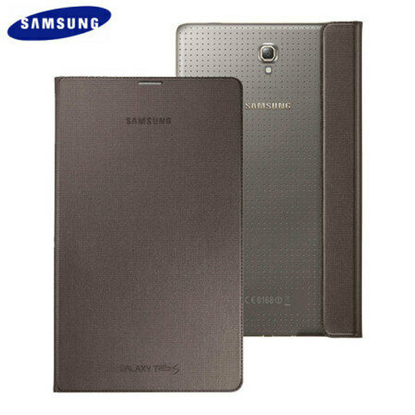 "Official SAMSUNG Galaxy Tab S 8.4"" Simple Cover Case EF-DT700 Bronze"