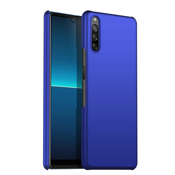 Blue For Sony Xperia L4 (2020) Case- Ultra Slim Hard Case Thin Hybrid Armour Cover